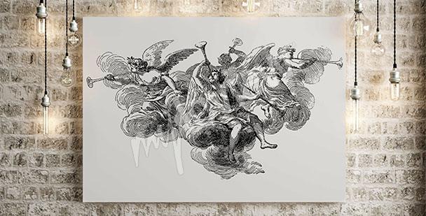 Bild Barock mit Engeln