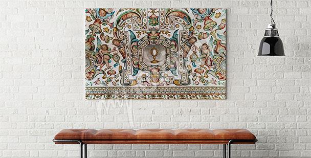 Bild Barockmotiv fürs Wohnzimmer