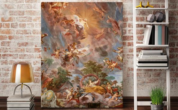 Bild Barockstil für Wohnzimmer