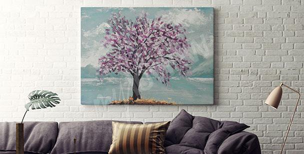 Bild Baum für Wohnzimmer