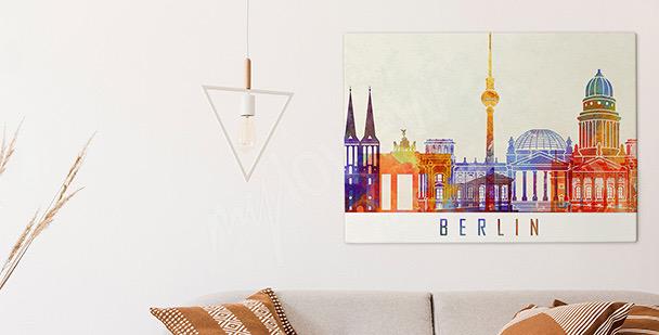 Bild Berlin in Aquarell