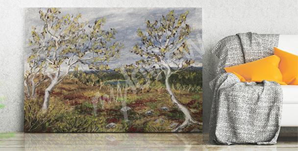 Bild Birken im Herbst