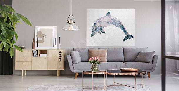 Bild blauer Meeressäuger
