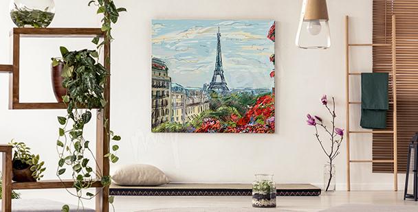 Bild Blick auf den Eiffelturm