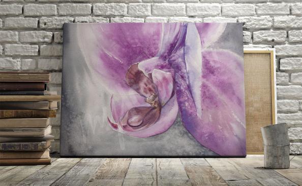 Bild Blume für Wohnzimmer