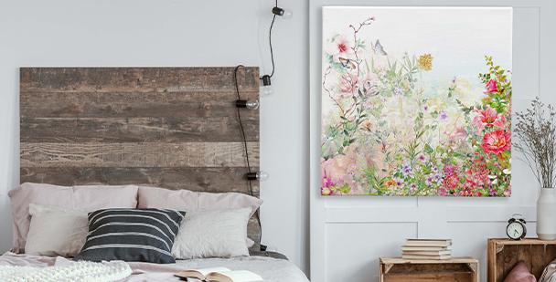 Bild rosafarbene Blumen
