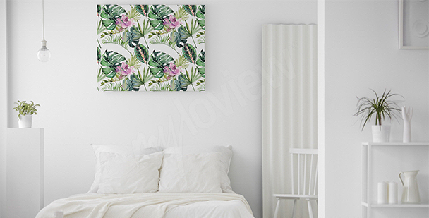 Bild Blumen und Blätter