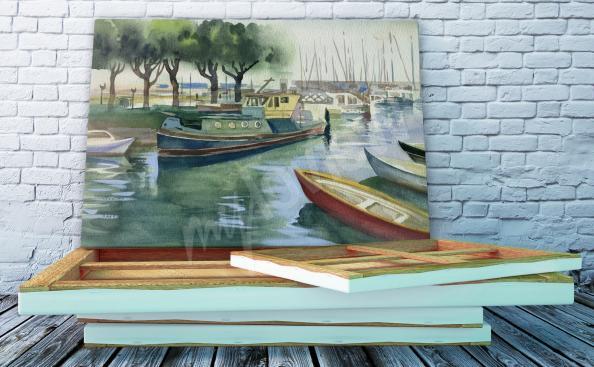 Bild Boote in der Marina