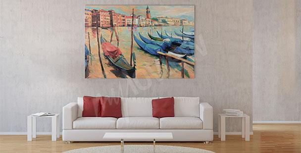 Bild Boote in Venedig