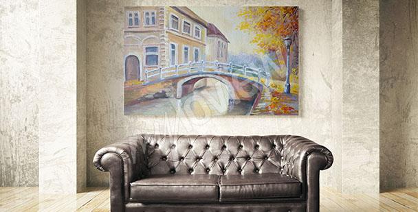 Bild Brücke im Herbst