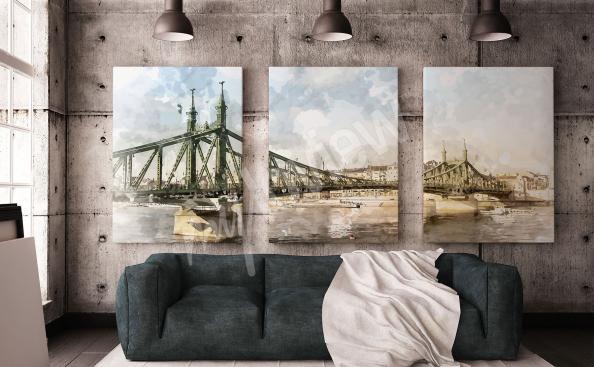 Bild Brücke in Budapest