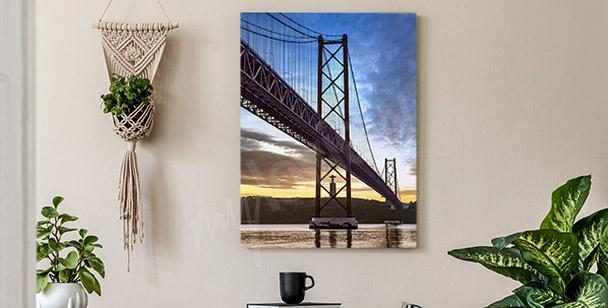 Bild der Hängebrücke