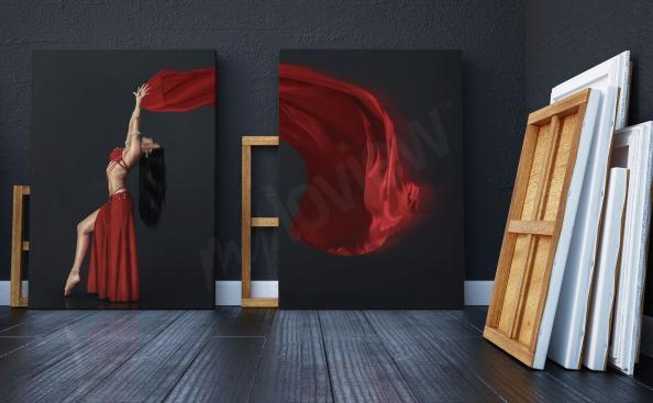 Bild Diptychon mit einer Tänzerin
