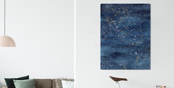 Bild dunkelblauer Himmel