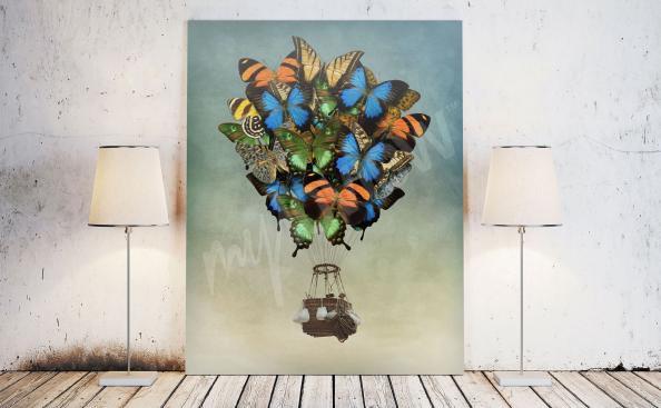 Bild Fantasy mit Schmetterlinge