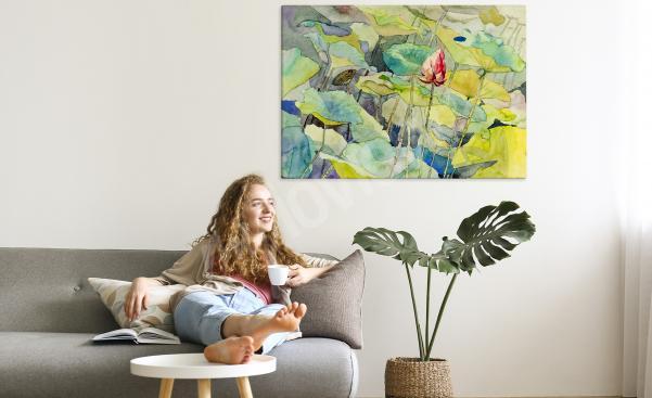 Bild Floral Stile - Seerosen