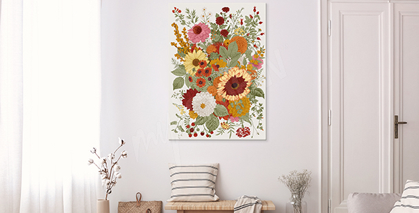 Bild florale Stile