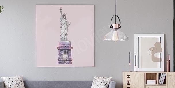 Bild NY bunte Hochhäuser