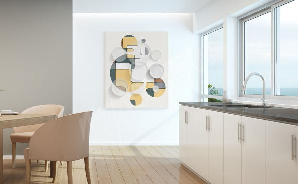 Bild für die Küche Abstraktion