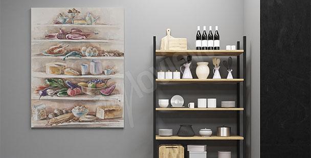 Bild für die Küche Gerichte