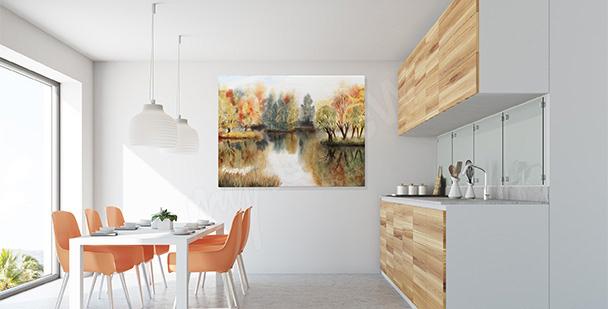 Bild für die Küche Blätter