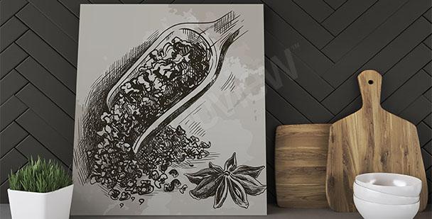Bild für die Küche Tee