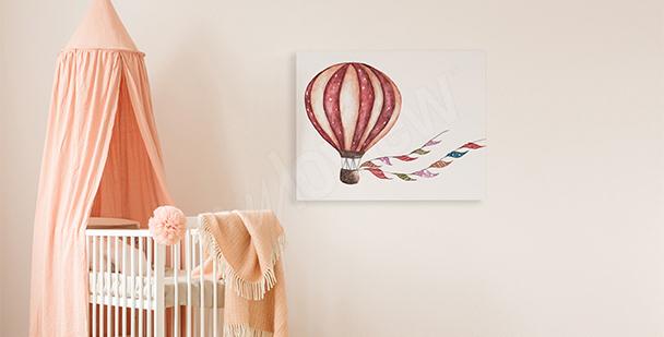Bild für ein Mädchen: Luftballon