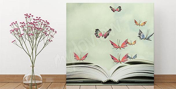 Bild für Vorzimmer - Schmetterlingen