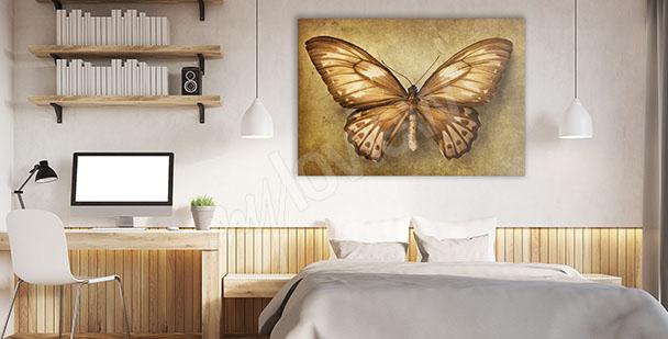 Bild fürs Schlafzimmer Schmetterling