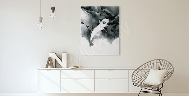 Bild fürs Wohnzimmer Frauenportrait