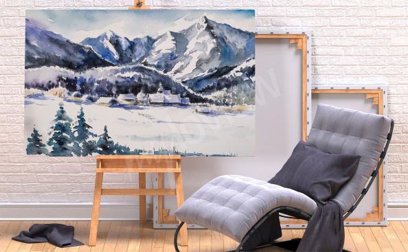 Bild Gebirge im Winter