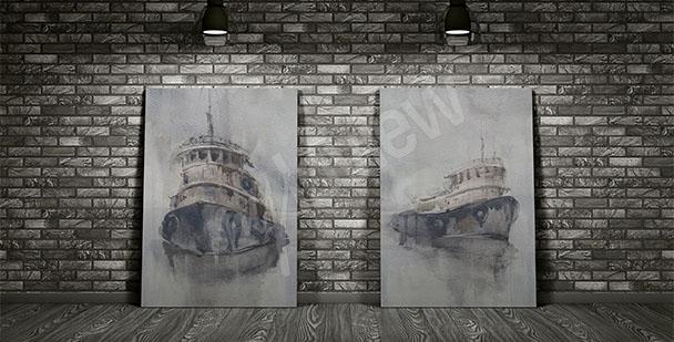 Bild geheimnisvolle Schiffe