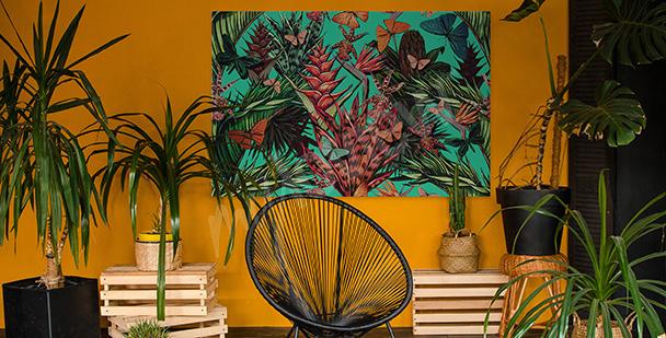 Bild Grün im Dschungel