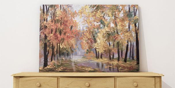 Bild Herbstbild für Vorzimmer