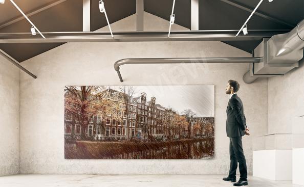 Bild historische Gebäude von Amsterdam