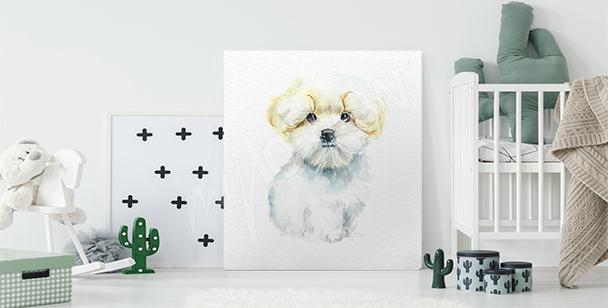 Bild Hund fürs Kinderzimmer