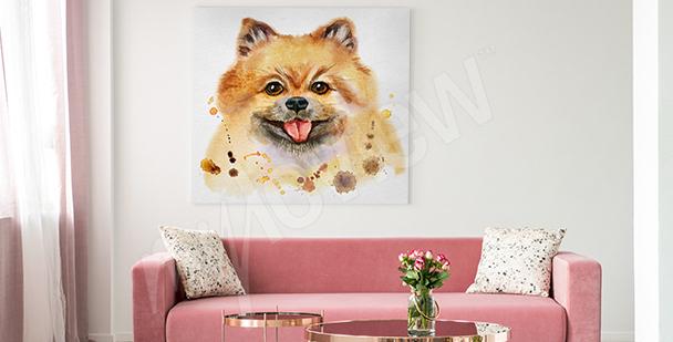 Bild Hund fürs Wohnzimmer