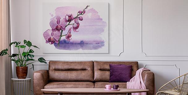 Bild Orchidee und Wasserfläche