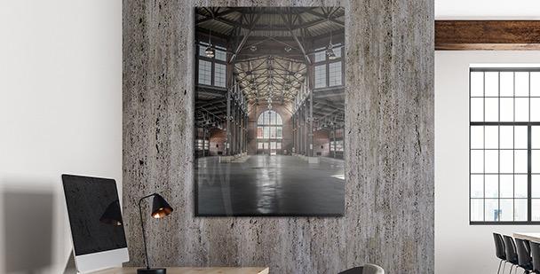 Bild im industriellen Stil