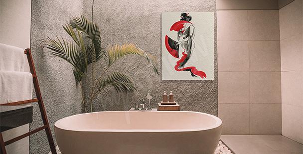 Bild im japanischen Stil