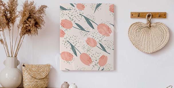 Bild Tulpen für Vorzimmer