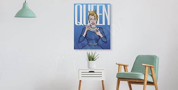 Bild im Pop-Art-Stil