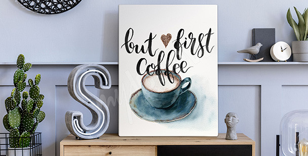 Bild Kaffee in Aquarell