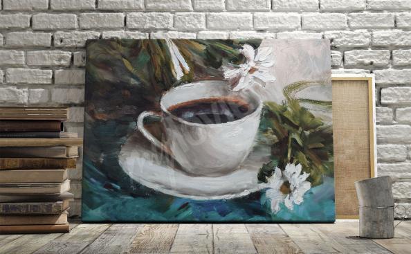 Bild Kaffee - Malerei