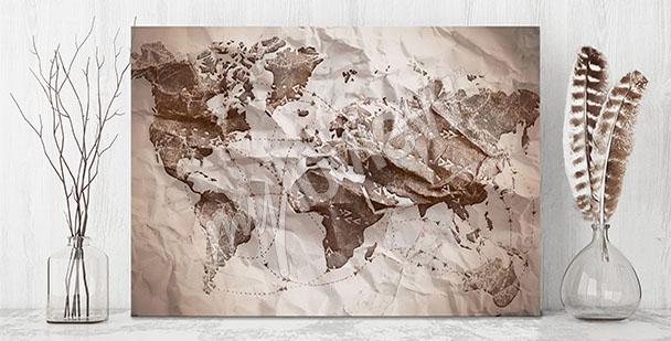Bild Karte aus Papier