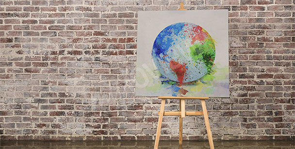 Bild Karte der Erde
