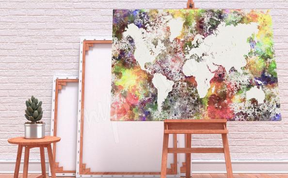 Bild Karte - Farben