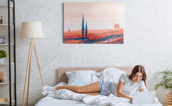 Bild Landschaft fürs Schlafzimmer