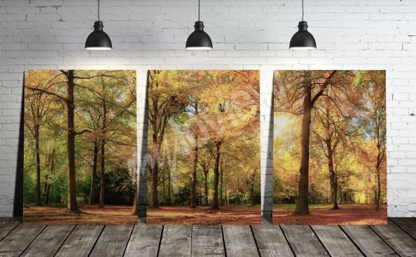 Bild Landschaft Triptychon