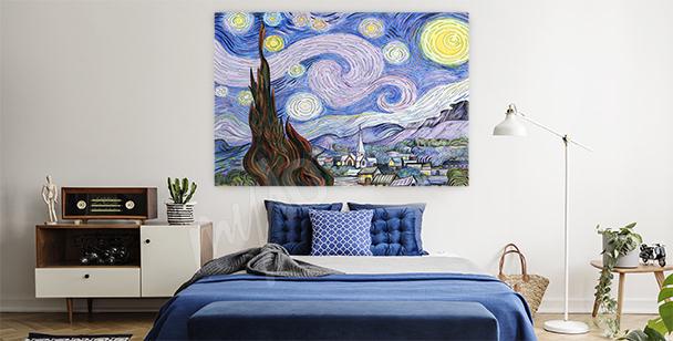 Bild Landschaft von van Gogh
